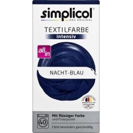 Simplicol intensiv Nacht-Blau
