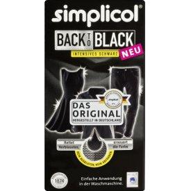 Simplicol Farberneuerung Back to Black Intensives Schwarz