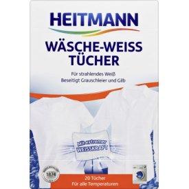 Heitmann Fleckentücher Wäsche Weiß