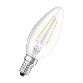 Osram LED Retrofit Kerzenlampe E14 250lm 2 Watt warmweiß