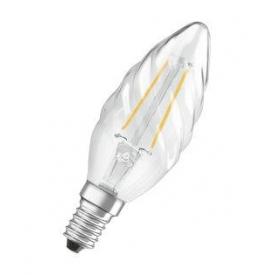 Osram LED Retrofit Kerzenlampe E14 230lm gedreht 2 Watt warmweiß