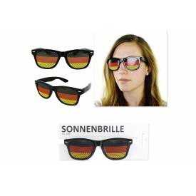 Party-Sonnenbrille Deutschland im geraden Design