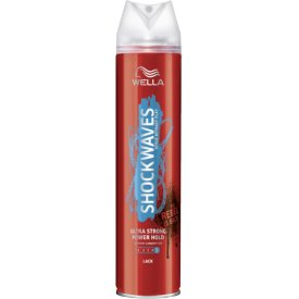 Wella ShockWaves Haarlack Haarspray Ultra Strong Power Hold Stärke 5