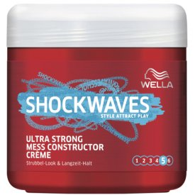 Wella Shockwaves Ultra Stark Mess Constructor Haarwax