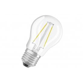 Osram LED Tropfen P25 2W klar E27