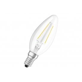 Osram LED Kerze B25 2W klar E14