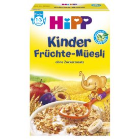 Hipp Kinder Früchte - Müesli   1 - 3 Jahre