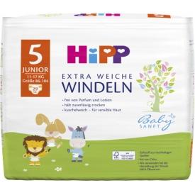 Hipp Babysanft Windeln Gr. 5 Junior, 11-17 kg