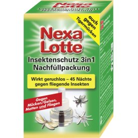 Nexa Lotte Insektenschutz 3in1 Elektroverdampfer Nachfüller