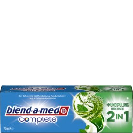 Blend-a-med Zahncreme Complete 2in1 Extra Frisch