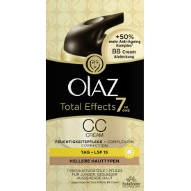 Olaz Total Effects CC Day Cream 7in1 Light Skin LSF15