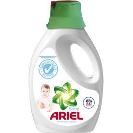 Ariel Flüssigvollwaschmittel  Baby mit Vorbehandlungskappe