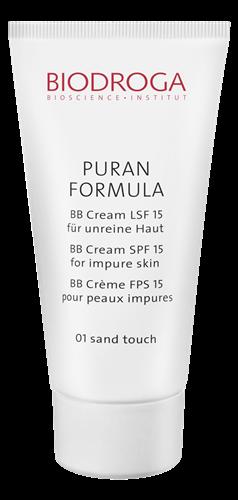 Biodroga&nbspBB Cream 01 Sand LSF 15 für unreine Haut