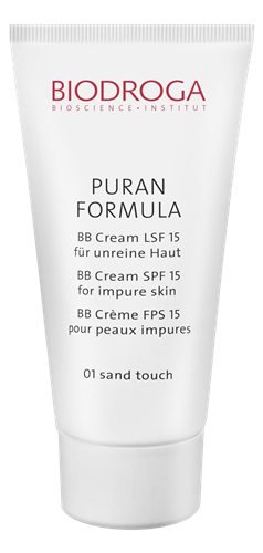 Biodroga&nbspPuran Formula BB Cream LSF 15 sand touch 01