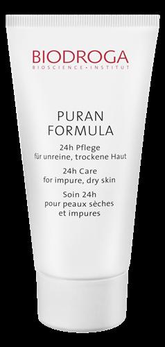 Biodroga&nbspPuran Formula 24-Stunden-Pflege unreine Trockene Haut