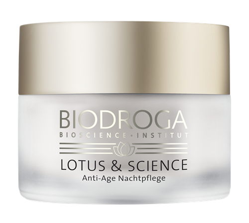 Biodroga Lotus and Science Lotus Anti Age Nachtpflege