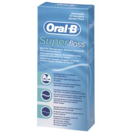 Oral-B Spezial-Zahnseide SuperFloss 50 Fäden