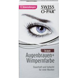 Swiss-o-Par Augenbrauen- und Wimpernfarbe braun