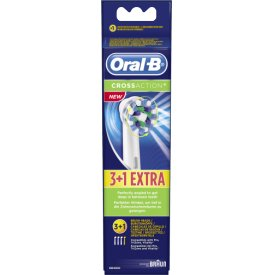 Oral-B CrossAction Aufsteckbürsten, 3+1