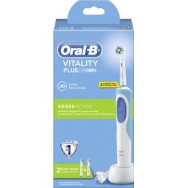 Oral-B Vitality Crossaction elektrische Zahnbürste mit 2 Bürsten