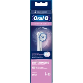 Oral-b By Braun ORAL-B Aufsteckbürste Sensitive Clean 3er
