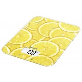 Beurer Küchenwaage KS 19 Lemon Digital, Tragkraft 5kg