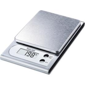 Beurer Küchenwaage KS 22 Digital, Tragkraft 3kg silber