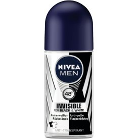 Nivea Men Deo Roll-On Invisible Power Black and White
