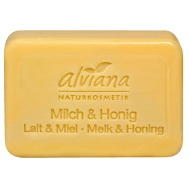 Alviana Seifenstück Milch & Honig