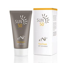 CNC Skincare Sun Face Cream, SPF 50