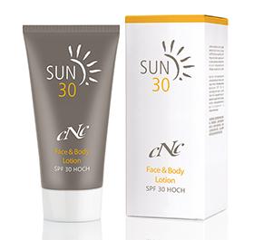 CNC Skincare Sun Face & Body Lotion SPF30