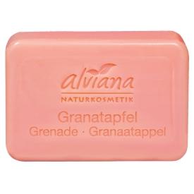 Alviana Pflanzenöl-Seife Granatapfel