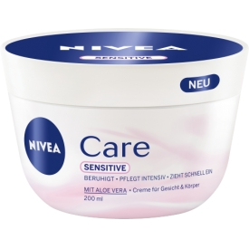 Nivea Pflegecreme Care Sensitive