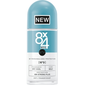 8x4 men Deo Roll-on No.9 Dry Cool