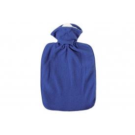 Hugo Frosch Wärmflasche Klassik Fleecebezug 1,8 l blau