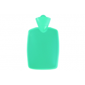 Hugo Frosch Wärmflasche 1,8l Klassik Halblamelle Sanitized® mint