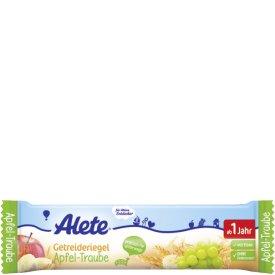 Alete Getreideriegel Apfel Traube