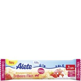 Alete Knusperriegel Erdbeere Milch