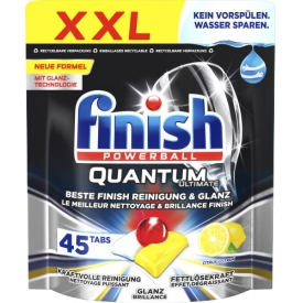 Finish Quantum Ultimate Citrus Spülmaschinentabs, XXL-Pack