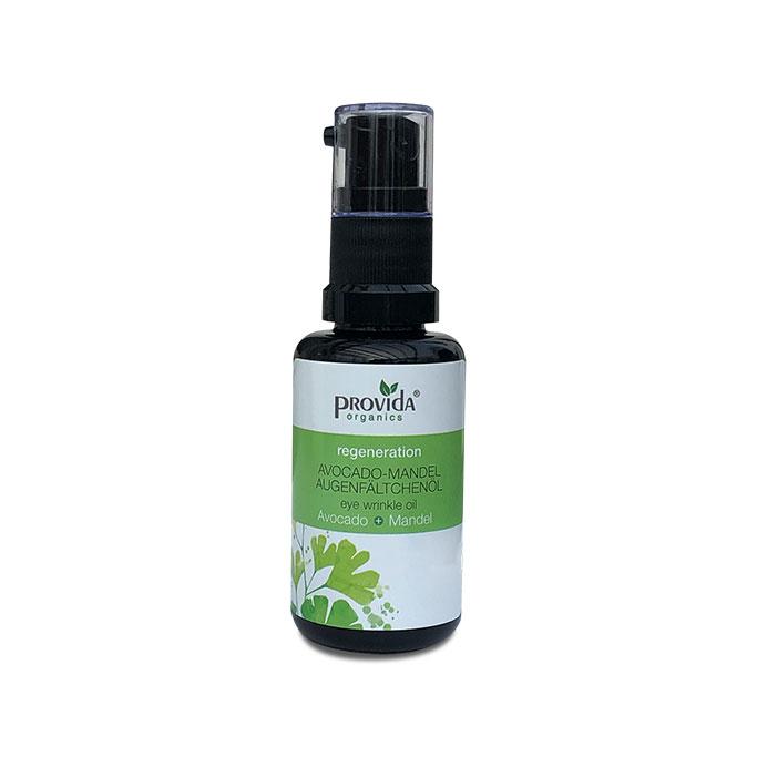 Provida Organics Avocado Mandel Augenfältchenöl