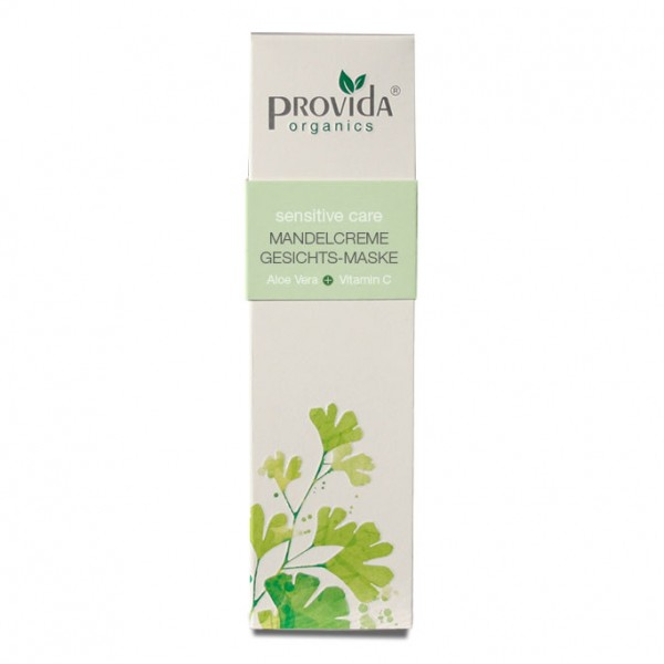 Provida Organics Mandelcreme Gesichtsmaske