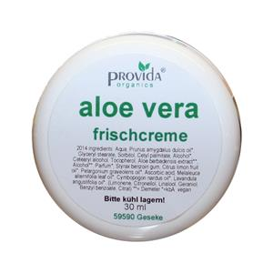 Provida Organics Aloe Vera Frischcreme