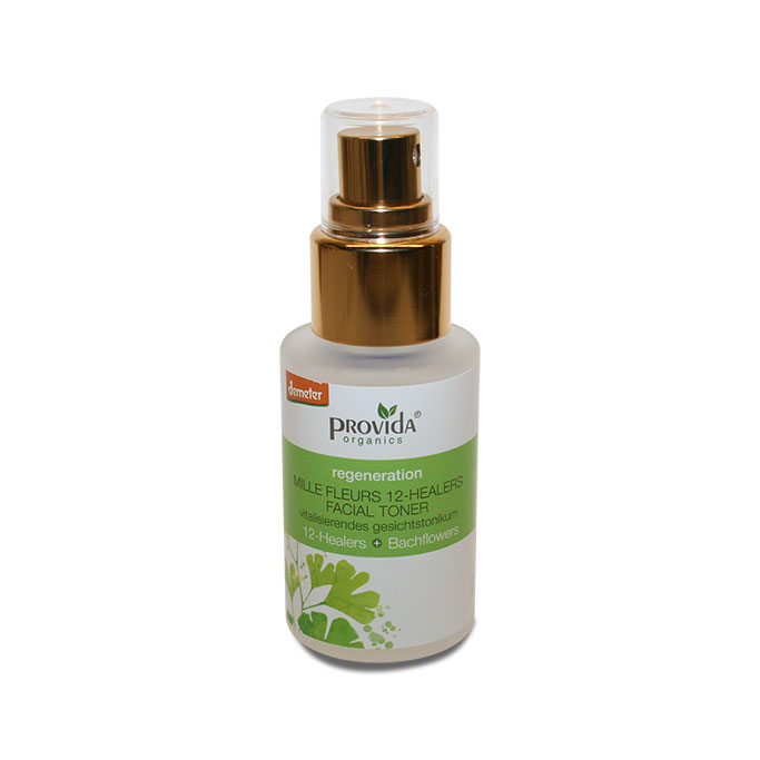 Provida Organics 12-healers facial toner Demeter