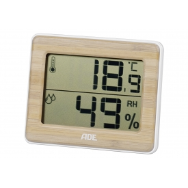 Ade Funkthermometer Hygrometer 10x8,1x1,3cm