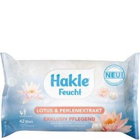 Hakle Feuchtes Toilettenpapier Lotus & Perlenextrakt