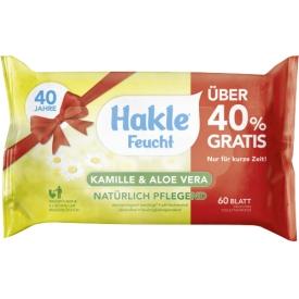 Hakle Feuchte Toilettentücher mit Kamille und Aloe Vera