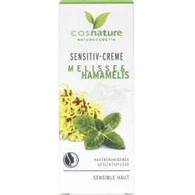 Cosnature Spezialpflege Gesichtscreme Sensitiv Melisse & Hamamelis