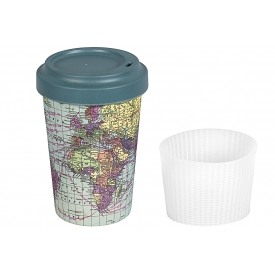 Chic-mic Becher Coffee to Go BambooCUP* Around the World