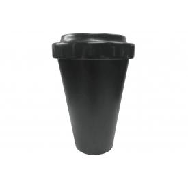 Q Squared Becher Coffee to go Melamin 230ml schwarz