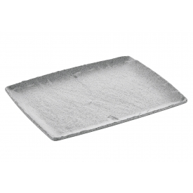 Q Squared Platte GN 1/2 granit grau
